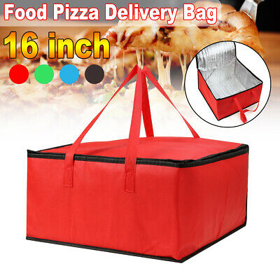 16 inch Hot Food Pizza Takeaway Restaurant Delivery Bag Thermal Insulated Holder