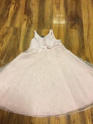 Debenhams Babble Boom Girls Baby Pink Party Dress Aged 3-4 Years Old