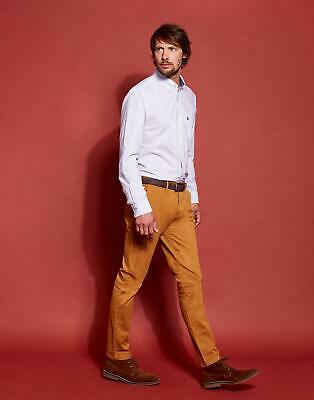 Joules Mens The Laundered Chino Trousers - BROWN