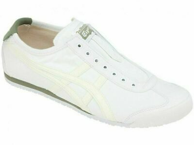 New Onitsuka Tiger MEXICO 66 SLIP-ON 1183A360 White × Birch from Japan F/S 2019