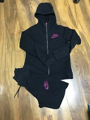 Nike Girls Tracksuit Size L (146-156)(12-13 Years Old)