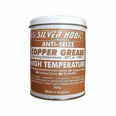 High Temperature Copper Grease 500g Anti Seize Grease for Disc Brake Squeal