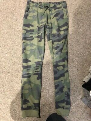 Next girls camouflage tracksuit bottoms age 12 years