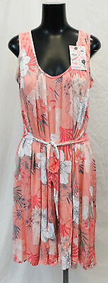 Latched Mama Women's Floral Nursing Romper SV3 Pink One Size NWT