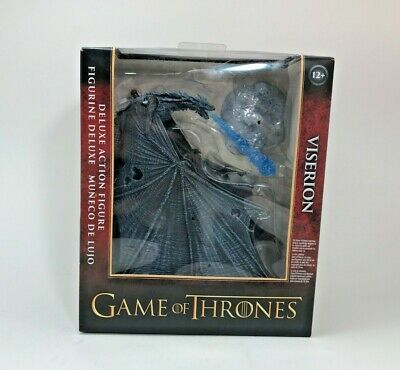 New Game of Thrones Viserion Deluxe Action Figure McFarlane Toys Ice Dragon