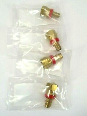 Welch 41-2644 Adapter Nipple For 1400 Vacuum Pump LOT OF 4