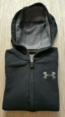 🔥AUTHENTIC🔥 Boys Kids UNDER ARMOUR Hoodie Jumper Tracksuit Top Jacket AGE 7 8