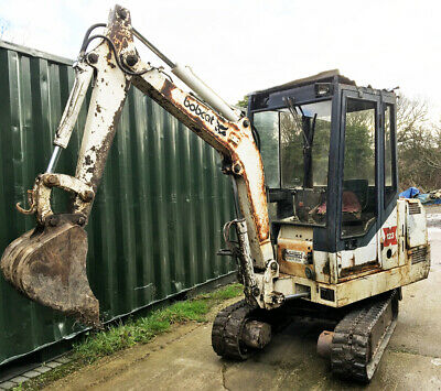 Bobcat Mini Digger / Excavator X123S 1.75 Track vehicle