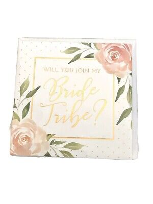 PAPYRUS Greeting Card - JOIN MY BRIDE TRIBE Wedding Bridesmaid - NEW IN PKG