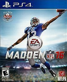Madden NFL 16 (Sony PlayStation 4 PS4 2015) Manual included
