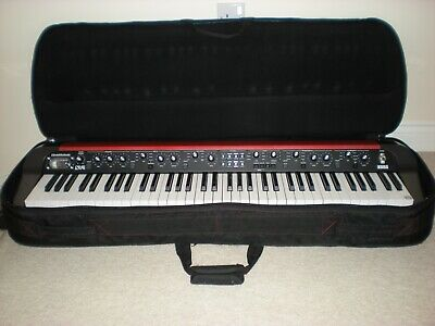Korg SV1-73 Stage Vintage piano in red including bag, stand, sustain pedal.