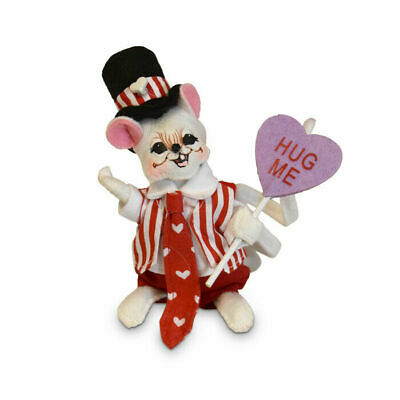 """2019 ANNALEE ~ /""""Makin/' Valentines/""""~ #850119 ~ 5/"""" ~ Limited Production ~ NWT"""