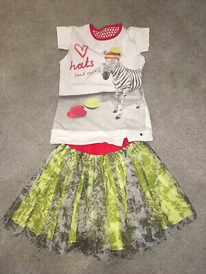 Nono Girls Skirt And Top Age 7 8 9 10 Catimini Oilily