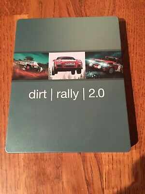 Dirt Rally 2.0 Steelbook (NO GAME) PS4/Xbox One/PC NEW