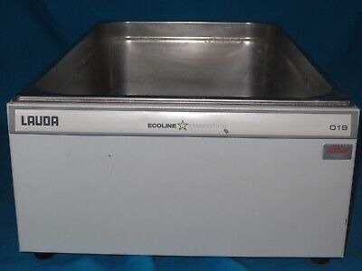 Lauda Ecoline 019 Stainless Steel Water Bath, 18 Liter / 4.5 Gallon