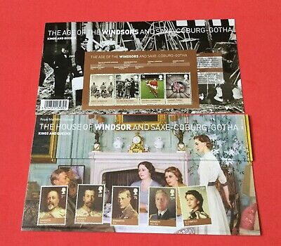 GB 2012 THE HOUSE OF WINDSOR PRESENTATION PACK No.466 WITH MINIATURE SHEET