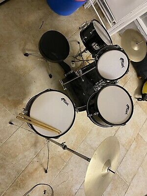 "TIGER 17"" Bass 5-Piece Acoustic Children's / Junior Drum Kit w/ Cymbals"