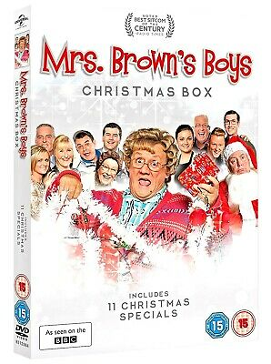 Mrs Browns Boys Christmas 11 Christmas Specials Brand New And Sealed Dvd