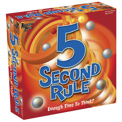 5 Second Rule  - BRAND NEW