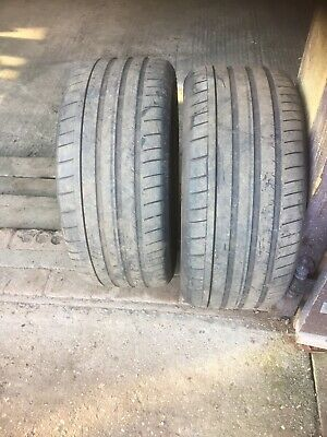 TYRES Pair   255/45/R17  DUNLOP SP  SPORTMAXX   (price for pair)