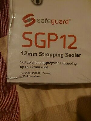 Safeguard 12mm Strapping Sealer