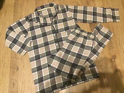 Lovely Blue/Pink Checked PJ's From River Island. Aged 11/12yrs. BNWOT