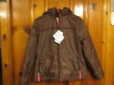 Garnet Hill Nwt Girls Size 12 Thermolite Coat Brown