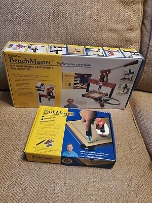 FrameCo. BenchMaster I # 14729 Picture Frame Joiner new in box + pushmaster