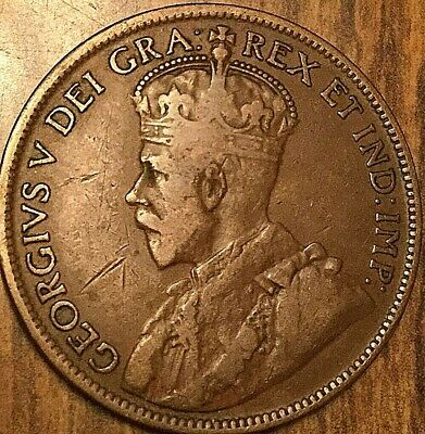 1916 Canada Large 1 Cent Penny