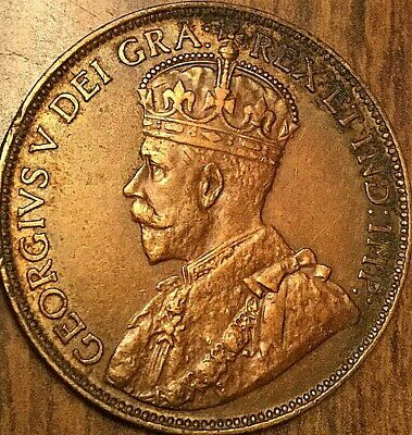 1920 Canada Large 1 Cent Penny