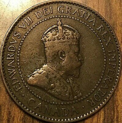 1904 Canada Large 1 Cent Penny