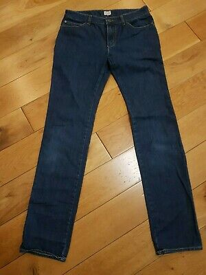 Genuine Armani Junior Boys Jeans Indigo Navy Blue Age Size 14 Years 168 Cm
