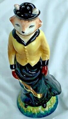 WINTERTHUR Museum Collection Library Exclusive LADY FOX Figurine - Pepper SHAKER
