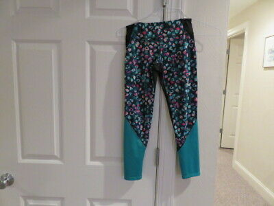 EUC!!  Old Navy Black Patterned Leggings  - Size Girls 8