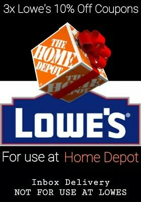 3x LOWES $20 OFF $100COUPON ONLINE INSTORE @LOWESFORPROS Inbox delivery exp 4/09