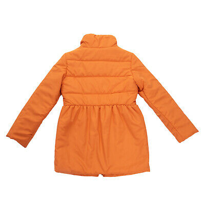 RRP €190 +MINI Coat Size 8Y Padded Partly Quilted Funnel Neck Made in Italy