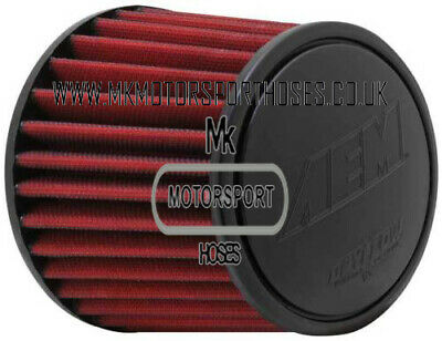 Aem 80Mm Cone Filter Red/Grey
