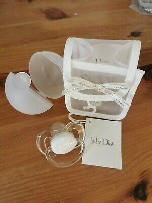 Baby Girls DIOR Dummy Soother Gift Brand New