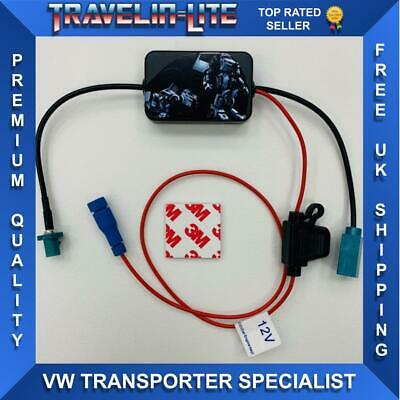 VW T5 T5.1 T6 Radio Aerial Signal Booster Transporter 2010 Onwards