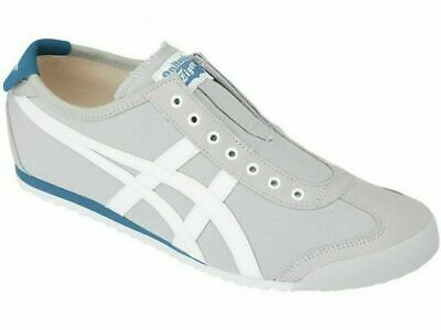 New Onitsuka Tiger MEXICO 66 SLIP-ON 1183A360 Gray × White from Japan F/S 2019