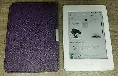 Amazon Kindle Paperwhite 3rd (7th Generation) White, 6in, 4GB, WiFi, eReader