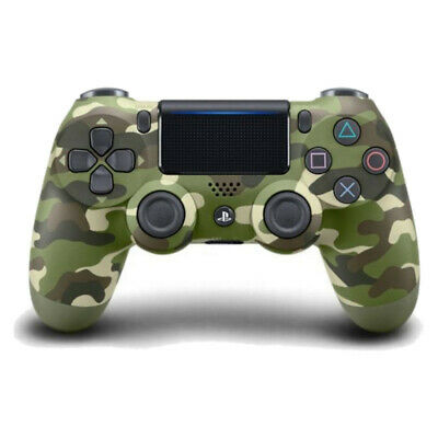 Sony Dualshock 4 Wireless Controller for PlayStation 4 - Green Camouflage - VGC