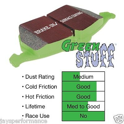 EBC Brakes DP21645 Greenstuff 2000 Series Sport Brake Pad