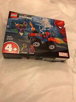 LEGO 76133 Marvel Super Heroes Spider Man Car Chase Adventure Building Toy Set