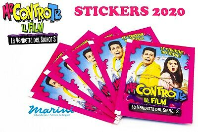 Diramix Me Contro Te Il Film - 5 Bustine Di Stickers Figurine Collection 2020