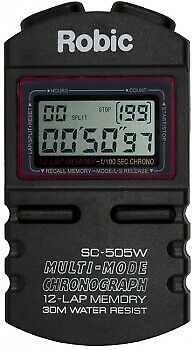ROBIC WATCHES SC-505W Stopwatch