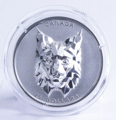 "Kanada 25 Dollar 2020 ""Multifaceted Animal - Luchs"""