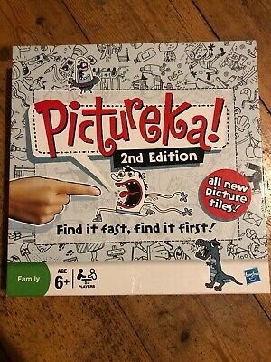 PICTUREKA ! 2nd EDITION, FIND IT FAST, FIND IT FIRST ! ALL NEW PICTURE TILES