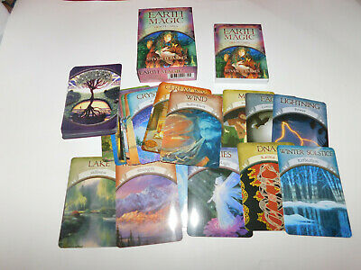 Earth Magic Oracle Cards Steven D. Farmer Complete New Opened Unused FREE SHIP