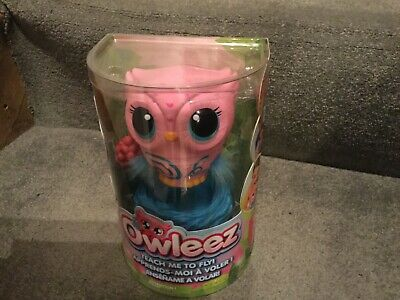 Owleez Interactive Toy Pink- the interactive baby owl toy